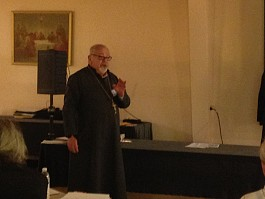 Fr Daniel Rentel offered keynote reflections on his years in ministry