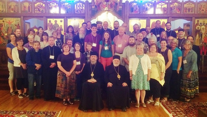 Attendees at Third Small Parish Forum Canton OH July 14-16
